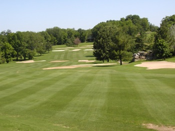 View of hole 13 on the course at Nashville Golf & Athletic Club