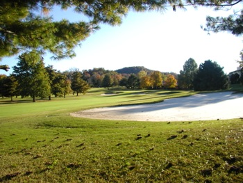 View of hole 16 on the course at Nashville Golf & Athletic Club