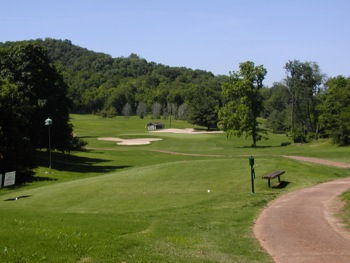 View of hole 17 on the course at Nashville Golf & Athletic Club