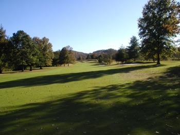 View of hole 3 on the course at Nashville Golf & Athletic Club
