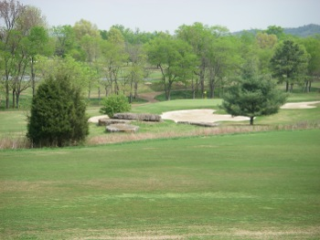 View of hole 7 on the course at Nashville Golf & Athletic Club