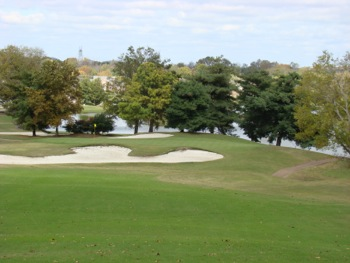 View of hole 9 on the course at Nashville Golf & Athletic Club